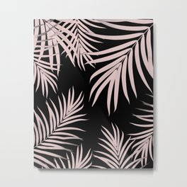 Palm Leaves Pattern Summer Vibes #5 #tropical #decor #art #society6 Metal Print