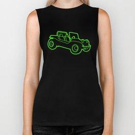 Beach Buggy Retro Cool Vdub Beetle Dune Car T-Shirts Biker Tank