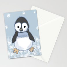 Frosty pinguin Stationery Cards
