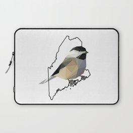Maine – Black-Capped Chickadee Laptop Sleeve