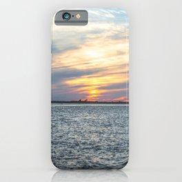 Sunset at Long Beach Island iPhone Case