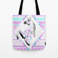 kris tate Tote Bags featuring TWIN SHADOW by Vasare Nar and Kris Tate by Vasare Nar