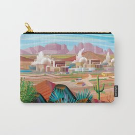 Power Generating Station in Desert Carry-All Pouch
