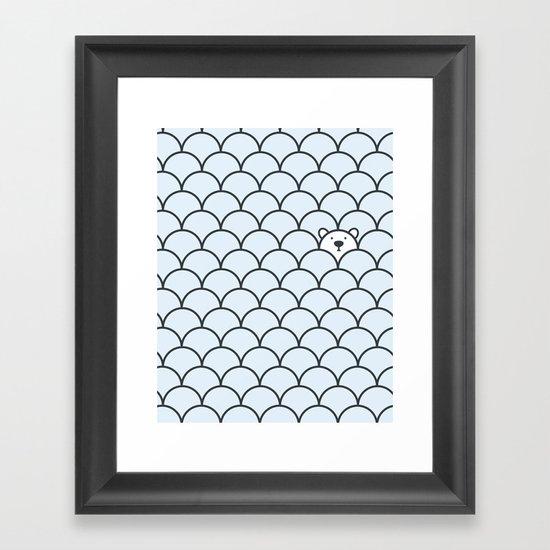 The Last Polar Bear Framed Art Print