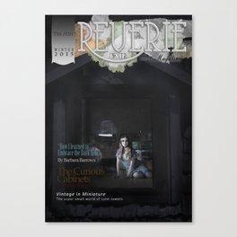 Reverie Fair - Issue 4 - Winter - The Attic Canvas Print