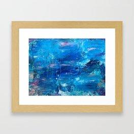 La Mer Enchantée Framed Art Print