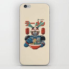 Super Ramen Bot iPhone Skin