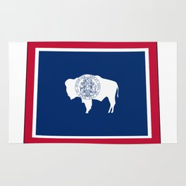 Wyoming Flag Rug
