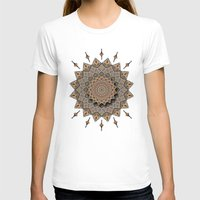 southwest T-shirts featuring Southwest Art Mandala by DebS Digs Photo Art
