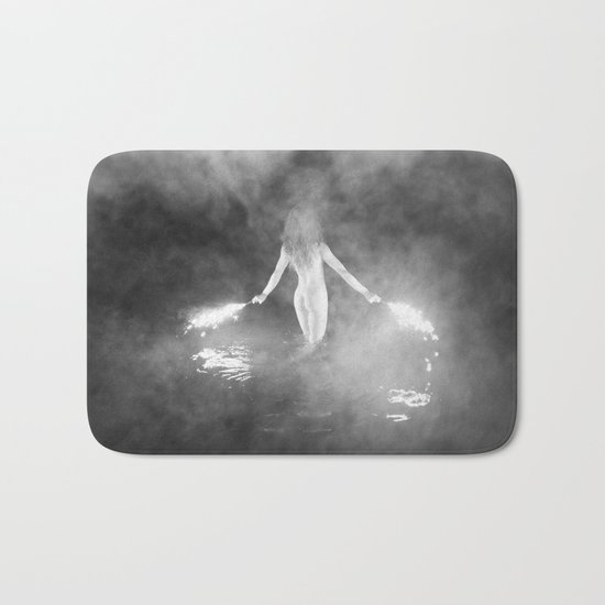 Fire Swim With Me Bath Mat