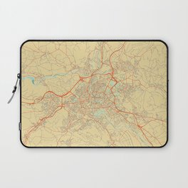 Bern Map Retro Laptop Sleeve