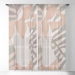 Summer Day Sheer Curtain