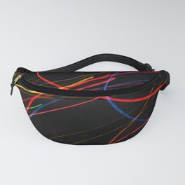 Bright Lights Abstract Energy Fanny Pack