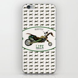 BugCycle Wall Pattern iPhone Skin