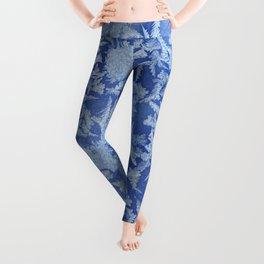 Blue Frozen Freeze Leggings