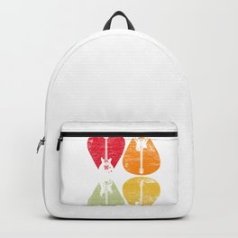 Guitars Retro Backpack