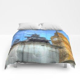 Big Ben and Boadicea Statue  Comforters