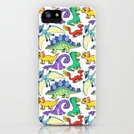 Dinosaurs!!!! iPhone Case