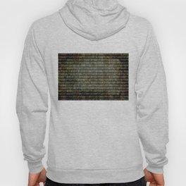 Binary Code - Distressed textured version Hoody