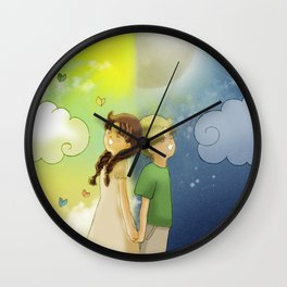 Day & Night Wall Clock