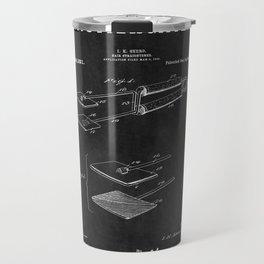 Hair Straightener Patent 2 Travel Mug