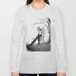 Angel de la soledad (Angel of loneliness)  Long Sleeve T-shirt