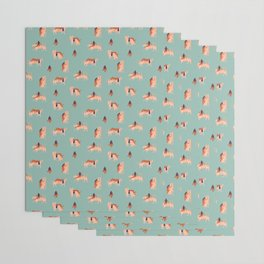 Tigers and girls Wrapping Paper
