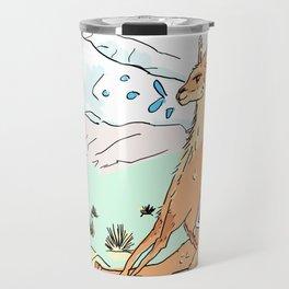 Spitting llama Travel Mug