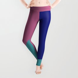 Minimalism Abstract Colors #9 Leggings