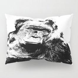 Gorilla In A Pensive Mood Portrait #decor #society6 #buyart Pillow Sham