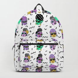 Memphis Shades purple Backpack