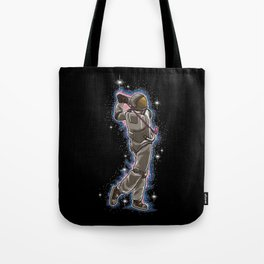 Golfing Astronaut | Galaxy is my Fairway Tote Bag