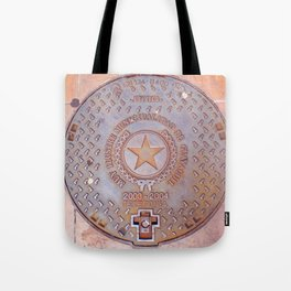 Manhole Cover - Guayaquil Tote Bag