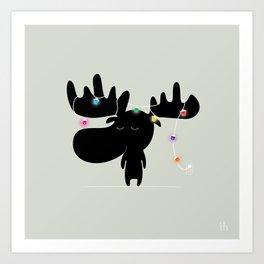The Happy Christmas Art Print
