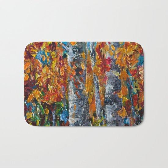 Aspen Trees - 1 Bath Mat