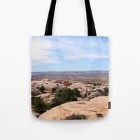 utah Tote Bags featuring Utah by BACK to THE ROOTS
