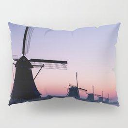 Windmills at Sunrise II Pillow Sham