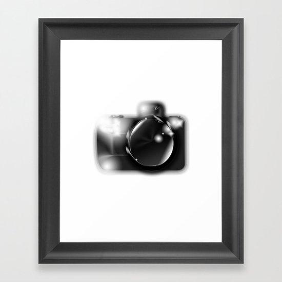Say Cheese! Framed Art Print