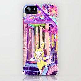 I'm late! iPhone Case