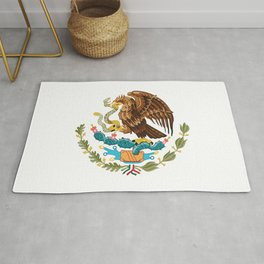 coat of arms of Mexico Rug