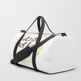 It's ok not being ok Duffle Bag