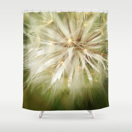 Flower of wishes Shower Curtain