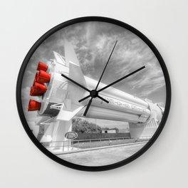Saturn One B Wall Clock