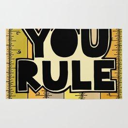 You Rule Rug
