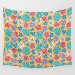RocoFloral (mango) Wall Tapestry