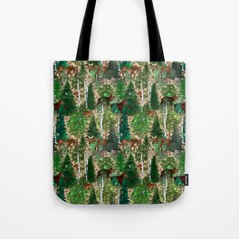 Woodland Wildlife Tote Bag