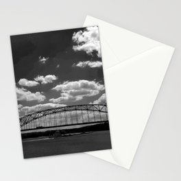 Barge on the Mississippi Stationery Cards
