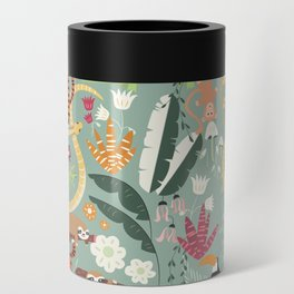 Rain forest animals 001 Can Cooler
