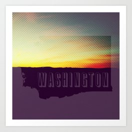 Washington  Art Print