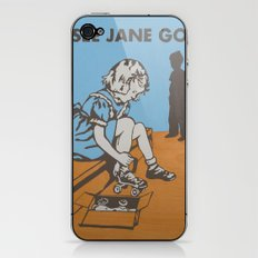 See Jane Go iPhone & iPod Skin